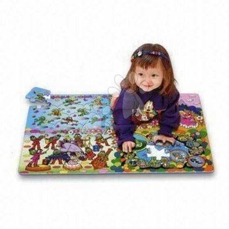Otroške puzzle iz pene Frog Lee Chyun 54 kom 60*90*1,2 cm