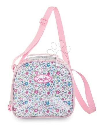 Šolske potrebščine - Torbica za čez rame Flowers Les Bagages Corolle Messenger Lunch Bag Isotherm rožasta 21*22*10 cm