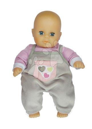 Bábiky pre dievčatá - Bábika Petit Bebe Nursery Écoiffier 32 cm fialovo-šedá od 18 mes_1