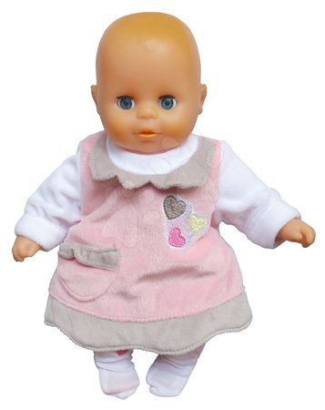 Panenky od 18 měsíců - Panenka Petit Bebe Nursery Écoiffier 32 cm růžovo-bílá od 18 měsíců