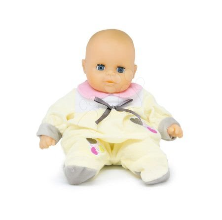 Bábiky pre dievčatá - Bábika Petit Bebe Nursery Écoiffier 32 cm žltá od 18 mes