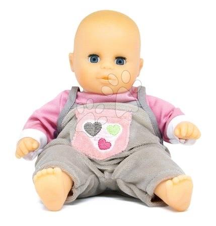 Bábiky pre dievčatá - Bábika Petit Bebe Nursery Écoiffier 32 cm fialovo-šedá od 18 mes