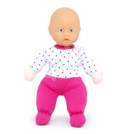 Bábiky pre dievčatá - Bábika malá Petit Bebe Nursery Écoiffier 20 cm v ružových dupačkách od 18 mes_1