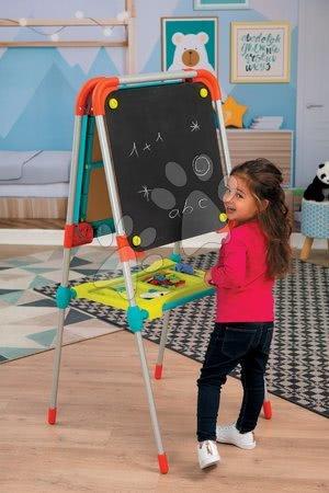 Kreativne i didaktičke igračke - Set ploča za crtanje i magneti Ultimate Board Smoby obostrana sklopiva i dvije stolice Kid_1