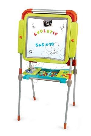 Kreativne i didaktičke igračke - Set školska magnetna ploča Smoby prilagodljiva i radionica Black+Decker elektronička_1