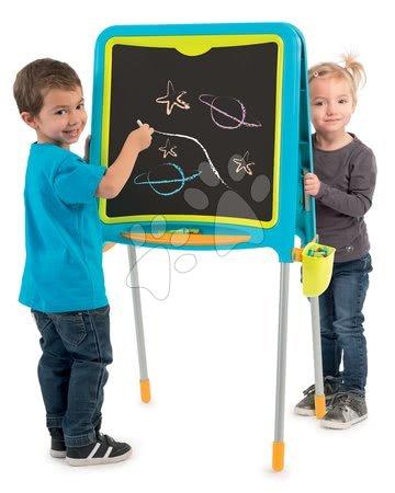 Kreativne i didaktičke igračke - Školska ploča Smoby magnetna obostrana, 80 dodataka i 2 stolca KidChair_1