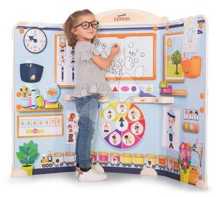 Kreativne i didaktičke igračke - Škola za predškolce School Smoby Igra učitelja i učenika s mnoštvom poučnih igara i 80 dodataka