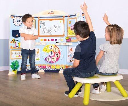 Kreativne i didaktičke igračke - Škola za predškolce School Smoby Igra učitelja i učenika sa zelenom klupom_1