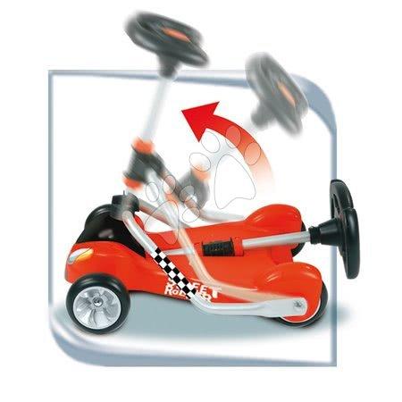 Roller Street Smoby piros ӧsszecsukható roller