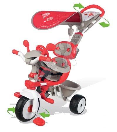 Tříkolka Baby Driver Confort Smoby červená od 10 měsíců