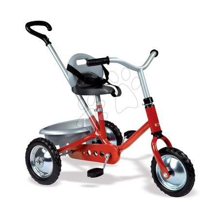 Tricicletă Zooky Classic Smoby cu antrenare pe lanţ roşu de la 16 luni