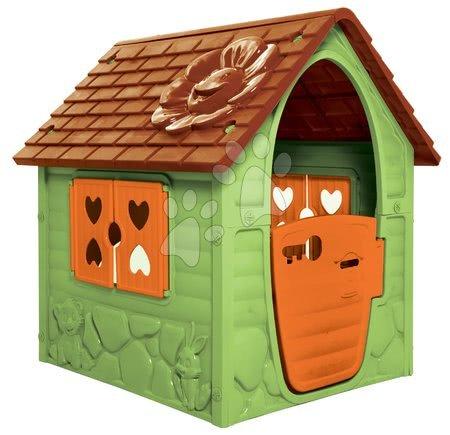 Dohány - Zahradní domeček My First Playhouse Dohány zelený s květinkou na střeše od 24 měsíců