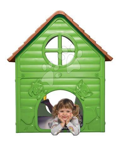 Dohány - Zahradní domeček My First Playhouse Dohány zelený s květinkou na střeše od 24 měsíců_1