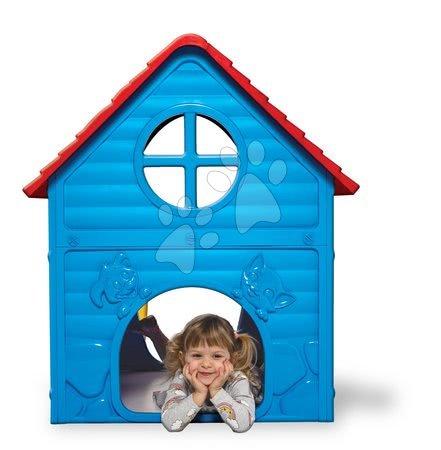 Dohány - Zahradní domeček My First Playhouse Dohány modrý s květinkou na střeše od 24 měsíců_1