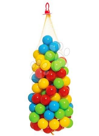 Mingi din plastic în plasă Dohány 6,5 cm colorate 100 de bucăți