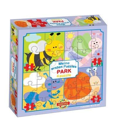 Hračky pro nejmenší - Puzzle pro nejmenší Moje první puzzle Park Dohány 4-6-9-12 dílů od 24 měsíců