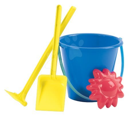 Kültéri játékok - Dömper Écoiffier vödör szettel (hossza 34 cm) zöld-kék 18 hó-tól_1