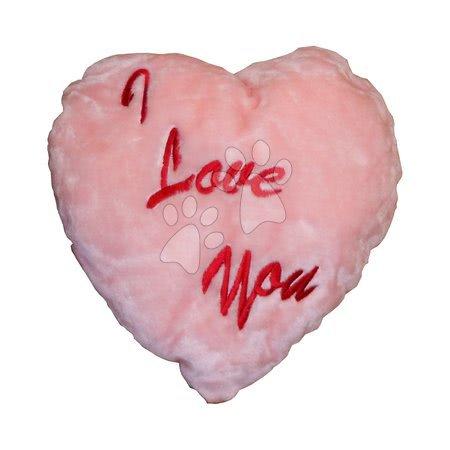 8902-R Srdiečko vankúšik ružové 40 cm