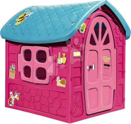 Záhradný domček so včielkou na streche Dohány ružový od 24 mes