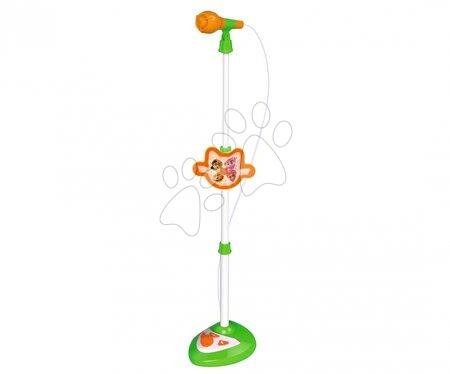 Hračky pre deti od 3 do 6 rokov - Mikrofón so stojanom 44 Cats Smoby 4 pesničky a 6 rytmov so zvukom a svetlom od 5 rokov