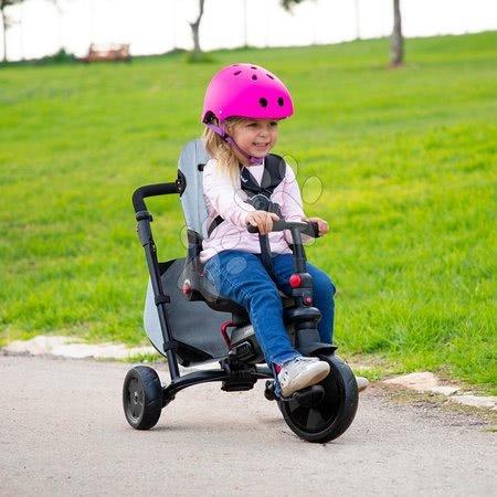 Tricikl i kolica sklopivi STR7 Urban 8u1 smarTrike Jeans s rotirajućim preklopnim sjedalom TouchSteering s EVA kotačićima od 6 mjes
