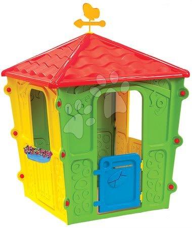 Detský domček Country Square Starplast s motýľom od 2 rokov