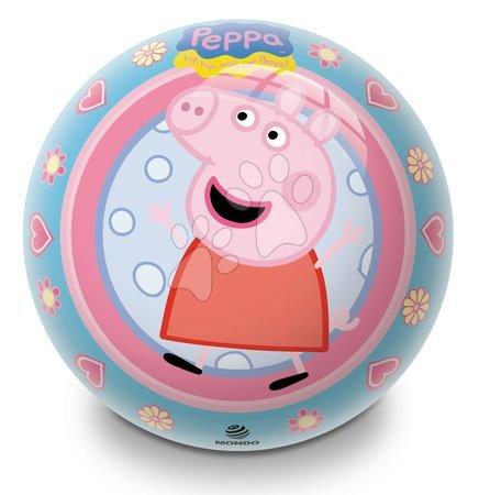 Rozprávková lopta Prasiatko Peppa Pig Mondo 14 cm gumená