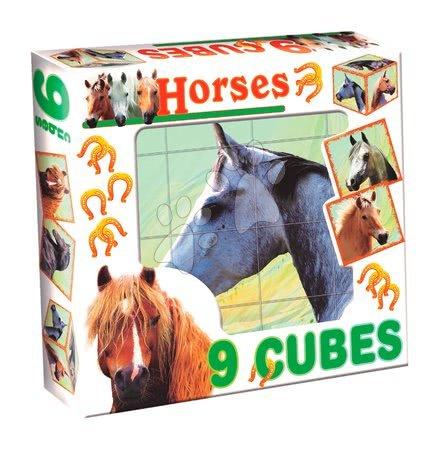 Rozprávkové kocky kone Dohány 9 dielov