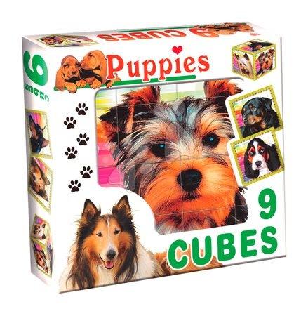 Rozprávkové kocky psy Dohány 9 dielov
