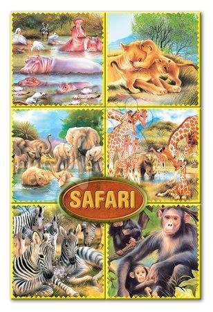 Mesekockák - Mesekockák Szafari Dohány 16 darabos
