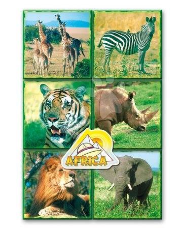 Mesekockák - Mesekockák Szafari állatkák Dohány 16 darabos