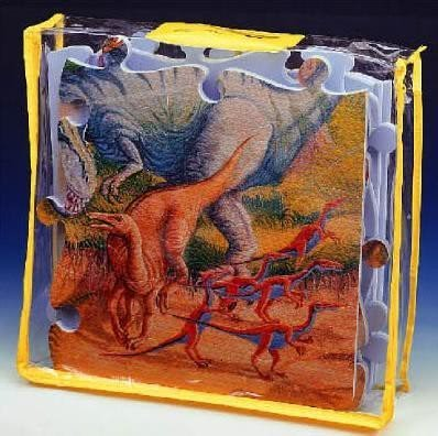 Lee Chyun - Habszivacs puzzle Dino Lee 54 darab 60*90*1,2 cm