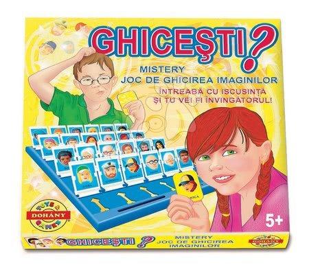 Spoločenské hry - Spoločenská hra Hádaj kto som? Dohány _1