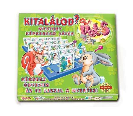 Jocuri de societate pentru copii - Joc de societate cu animale Ghicește ce sunt? Dohány