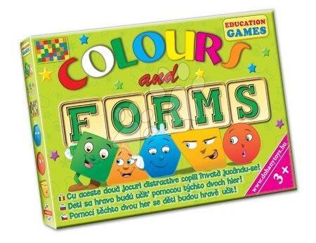 Jocuri de societate pentru copii - Joc de societate Culori şi forme Dohány de la 3 ani