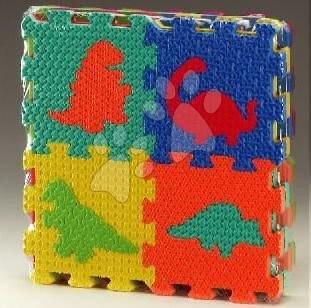 Lee Chyun - Habszivacs puzzle Dínó négyzetek Lee Chyun 16 darab 15*15*1,2 cm
