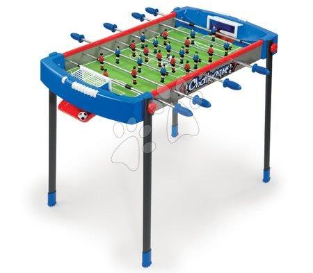 Jocuri de societate - Masă de fotbal Challenger Smoby cu 2 mingi de la vârsta de 6 ani albastru-roşu de la 6 ani