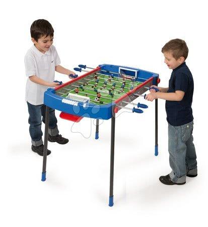 Jocuri de societate - Masă de fotbal Challenger Smoby cu 2 mingi de la vârsta de 6 ani albastru-roşu de la 6 ani_1