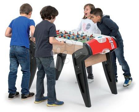 Jocuri de societate - Masă de fotbal BBF Nr. 1 Smoby cu 2 mingi de plută de la 8 ani_1