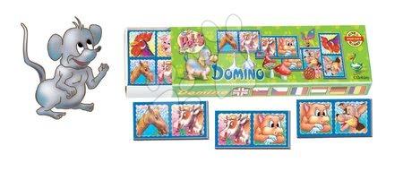 Domino a Lotto - Domino pre najmenších Dohány rôzne druhy
