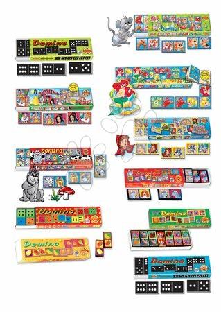 Domino a Lotto - Domino pre najmenších Dohány rôzne druhy_1