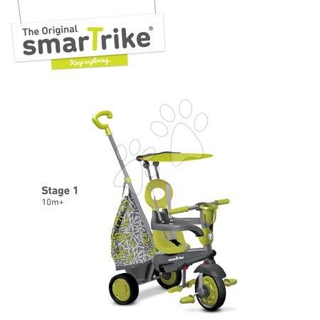 smarTrike - Trojkolka Groove 4v1 smarTrike zeleno-šedá od 10 mes