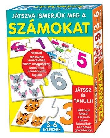 Jocuri de societate pentru copii - Joc educativ Numere Dohány 32 bc de la 3 ani