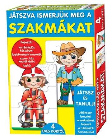 Jocuri de societate pentru copii - Joc educativ pentru cei mici Meserii Dohány 24 bucăţi de la 4 ani