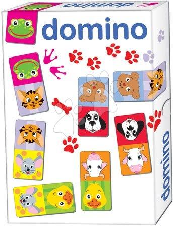 Domino a Lotto - Domino pre najmenších Zvieratká Dohány 28 ks