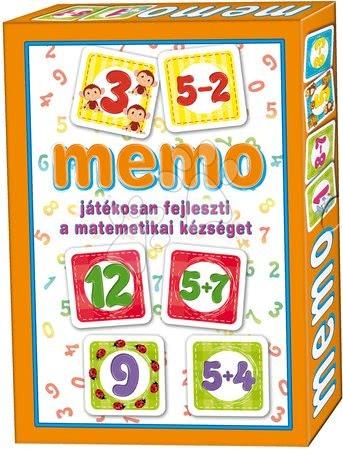 Pexeso - Pexeso s matematikou Memo hra Dohány 32 ks