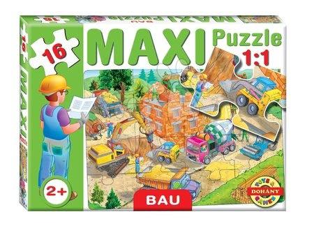Puzzle pentru copii  - Baby puzzle Maxi Construcţie Dohány cu 16 piese de la 24 luni