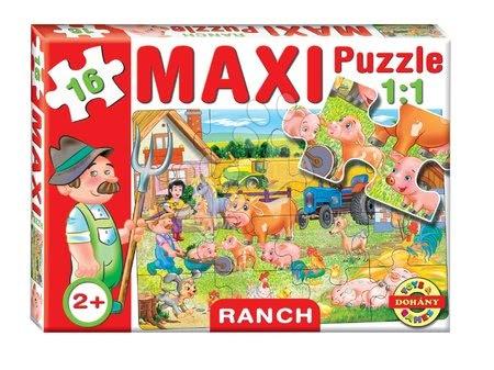 Puzzle pentru copii  - Baby puzzle Maxi Ranch Dohány cu 16 piese de la 24 luni