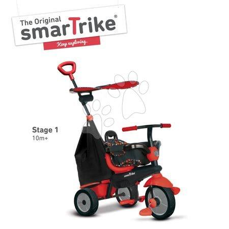 smarTrike - Trojkolka Delight Touch Steering 3v1 smarTrike červená od 10 mes