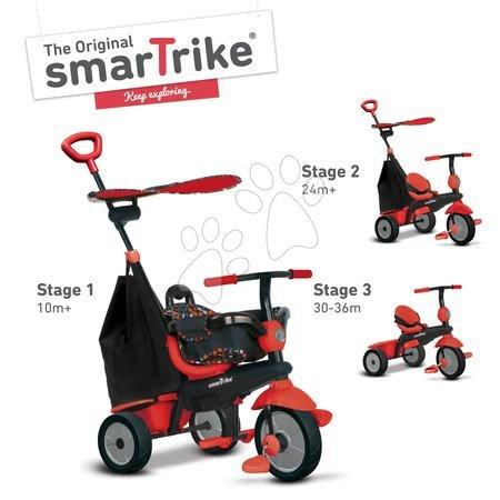 smarTrike - Trojkolka Delight Touch Steering 3v1 smarTrike červená od 10 mes_1